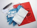 AED First Responder Kit with CPR MICROKIT-PLUS in Poly Bag