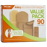 Easy Access Value Pack 90 Bandages