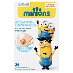 Minions Assorted Adhesive Bandages (20/Box)