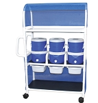 Hydration Cart With Canopy - Refreshments To Go Anywhere