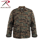 Woodland Digital Camo B.D.U. Shirt
