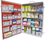 ANSI Class B Four Shelf First Aid Station
