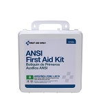 50 Person First Aid Kit, ANSI B, Plastic Case