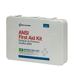 50 Person First Aid Kit, ANSI B,  Metal Case