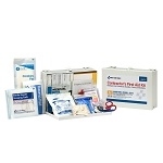 25 Person Contractor ANSI A+ First Aid Kit, Metal Case