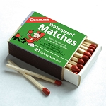 Waterproof Safety Matches - Box of 40