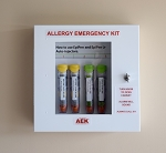 The Original Allergy Emergency Kit™ Non-Locking Epinephrine Cabinet WITH DOOR ALARM