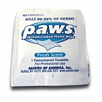 PAWS Antimicrobial Wipe, 100/box