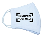 Customizable Reusable Fabric Mask Option