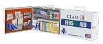 75H Class B First Aid Kit with Swing Out Door