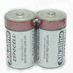 D Alkaline Batteries  1 Pair