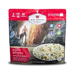 Outdoor Pasta Alfredo with Chicken- (2 serving pouch)