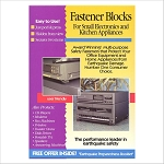QuakeHOLD! Fastener Blocks (Set of 2)