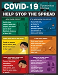 COVID-19 Safety Poster - Stop the Spread