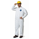 Coverall Zipper Front, Elastic Wrist & Ankle, Large (No hood)