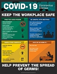 COVID-19 Safety Poster - Keep the Workplace Safe