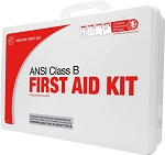 Class B 50 Person 2015 ANSI First Aid Kit Plastic