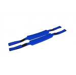 Kemp Royal Blue Head Immobilizer Replacement Straps(Pair)