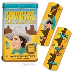 Cowgirl Bandages (15 per Tin)