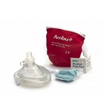 Ambu CPR Mask In Red Pouch
