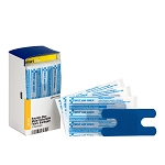 SC Refill Knuckle Visible Blue Metal Detectable Bandage - 20 Bandages