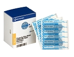 SC Refill Fingertip Visible Blue Metal Detectable Bandage - 20 Bandages