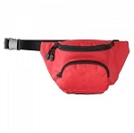 Kemp Hip Pack With Mesh Drain - Red