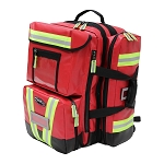 Kemp Tarpaulin Red Fluid-Resistant Ultimate Ems Backpack - Red