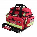 Kemp Red Tarpaulin Fluid-Resistant Large Trauma Bag