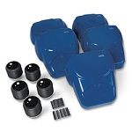 CPR Prompt Compression Chest Manikins, Pack of 5, Blue