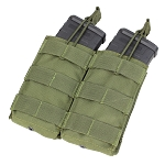 Double Open Top M4 Mag Pouch