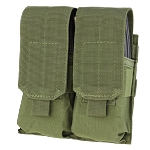 Double M4 Mag Pouch, Olive Drab
