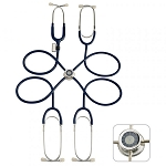 Pulse Time Teaching Stethoscope - 4 Users (Navy Blue)