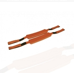 Kemp Orange Head Immobilizer Replacement Straps (Pair)