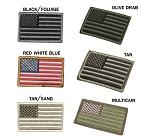 USA Flag Hook and Loop Patches (6pc/pack)