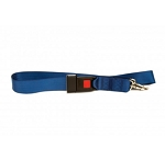Kemp Two Piece Spine Board Strap With Metal Buckle - Royal Blue