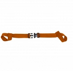 Kemp Two Piece Spine Board Strap - Orange