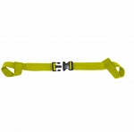 Kemp Two Piece Spine Board Strap - Yellow