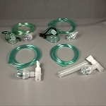 Nebulizer Kit with Pediatric Aerosol Mask, 7ft Oxygen Tubing, 50/Cs