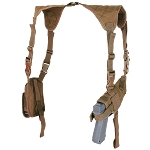 Universal Shoulder Holster, Coyote Brown