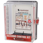 Public Access Bleeding Control Clear Wall Case