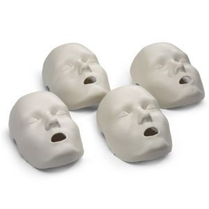Face Skin Replacements for Prestan Adult Manikin (4-Pack)