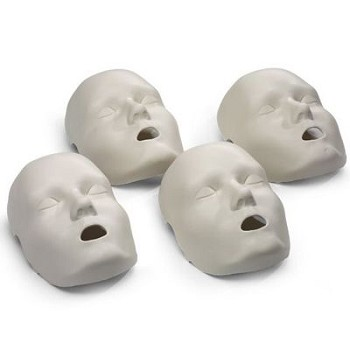 Face Skin Replacements for PRESTAN® Child Manikin (4-Pack)