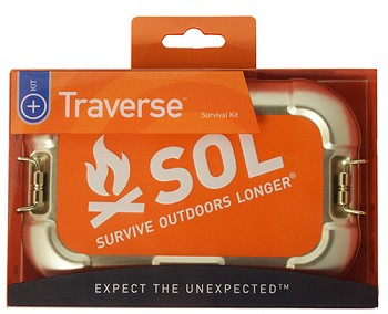 Survive Outdoors Longer Traverse First Aid Kit