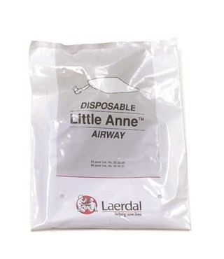 Little Anne Manikin Disposable Airways  / Case of 96