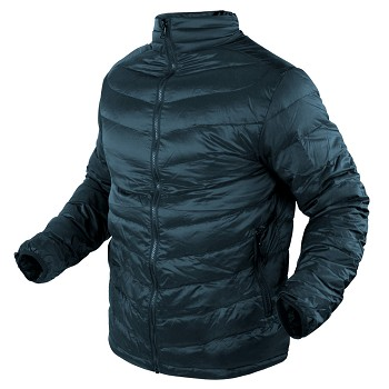 ZEPHYR LIGHTWEIGHT DOWN JACKET - GUNMETAL