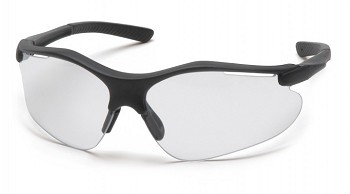FORTRESS - Clear Anti-Fog Lens with Black Frame