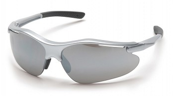 FORTRESS - Silver Mirror Lens with Silver Frame