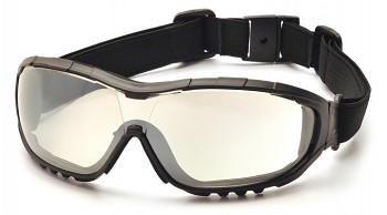 V3G - Indoor/Outdoor Mirror Anti-Fog Lens with Black Strap