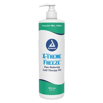 X-Treme Freeze Pain Relieving Cold Therapy Gel 16 fl. oz. Bottle, 12/Cs